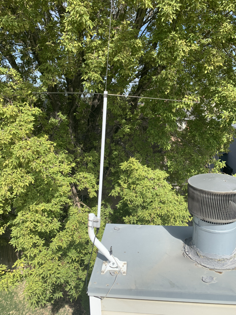 A 1090MHz antenna on my roof.